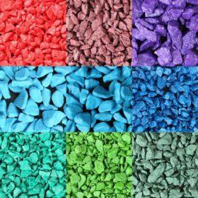 Мрамор цветной